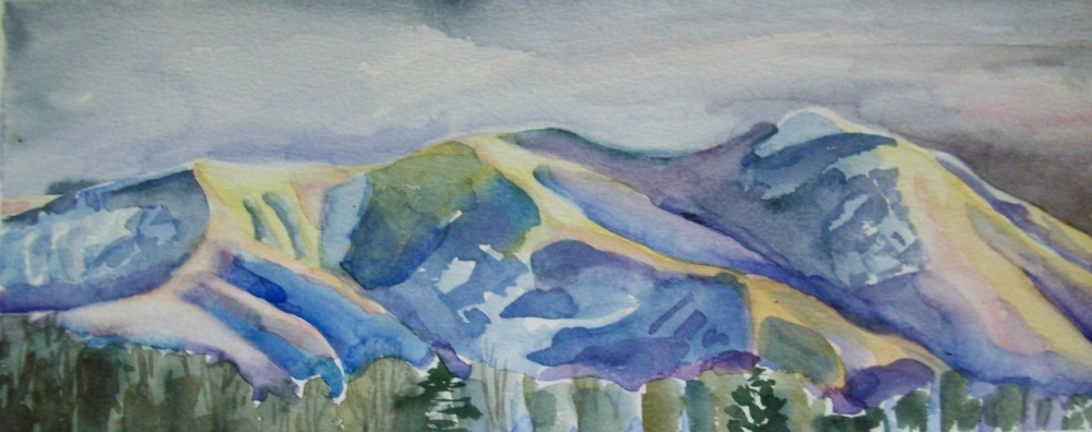 WINTER ON TAOS MOUNTAIN