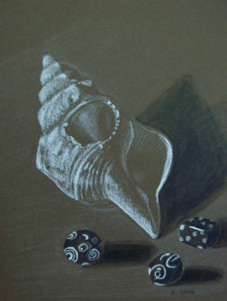 SHELL AND BEADS