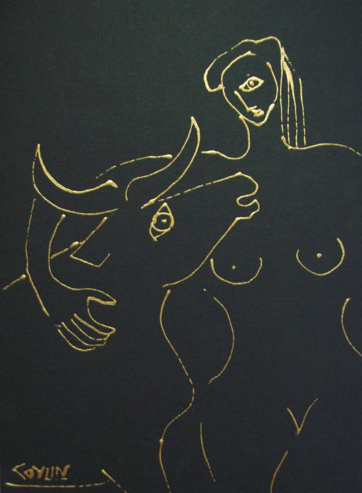 BEFORE THE BULL FIGHT
